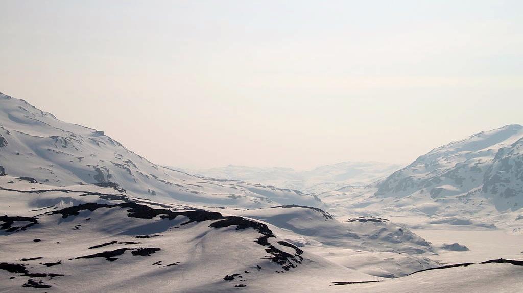 Hardangervidda, Noorwegen.