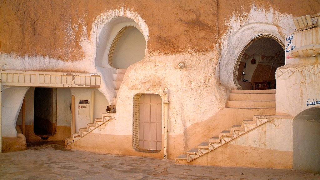 Hotel Sidi Driss, Neil Rickards, Star Wars filmlocatie