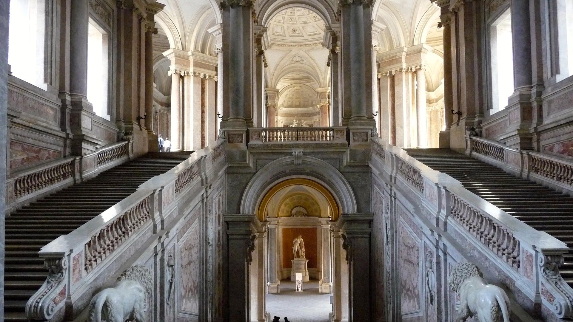 Royal Palace of Caserta, Italië