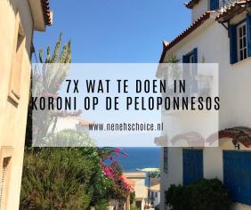 7x wat te doen in Koroni, Peloponnesos