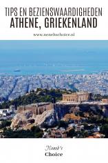 Tips en bezienswaardigheden Athene Griekenland