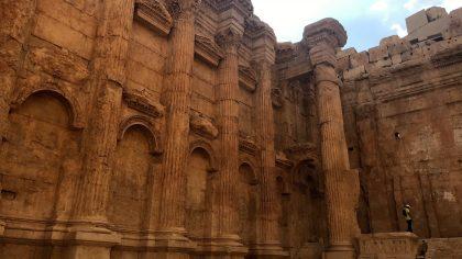 Baalbek tempel van Bacchus