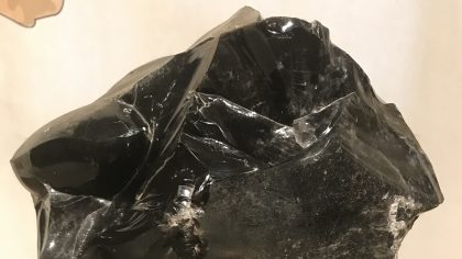 Nationaal Museum, Beiroet. Dragon Glass, Obsidian