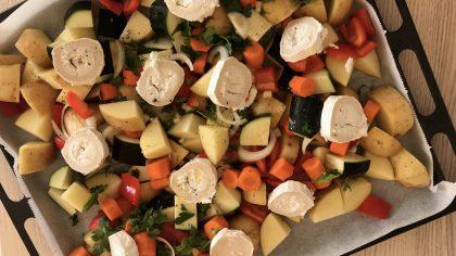 Eenvoudige recepten: ovenschotel met aardappelen en geitenkaas