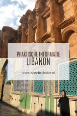 Praktische informatie Libanon