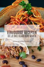 Eenvoudige recepten die je snel klaar kunt maken, Neneh's Choice