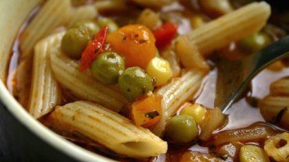 eenvoudige recepten die snel klaar zijn: minestronesoep