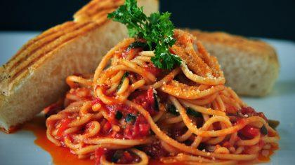 eenvoudige recepten, simpele pasta