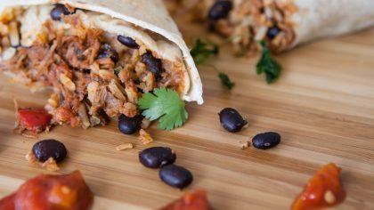 Eenvoudige recepten die je snel klaar kunt maken: wraps met tonijn en kidneybonen