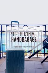 7 tips reizen met handbagage
