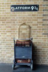 Kings Cross Station Londen Platform 9 3/4 Harry Potter