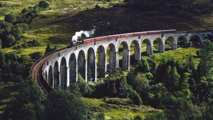 glenfinnan viaduct, glenfinnan, Schotland