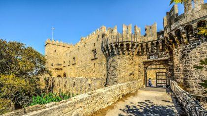 Rhodos-stad (Griekenland), tips en bezienswaardigheden, kasteel Rhodos