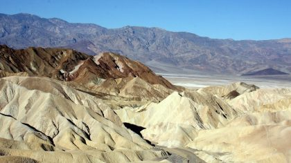 mooiste nationale parken in Amerika, Death Valley National Park, Zabriskie Point, Californië, Amerika