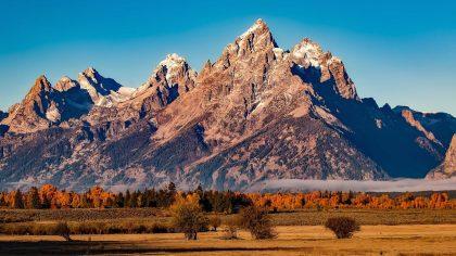 mooiste natioale parken in Amerika, grand-teton-national-park, Wyoming, Amerika