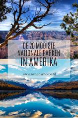 mooiste nationale parken in Amerika