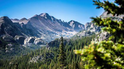 Rocky Mountain NP Estes - Colorado, Amerika