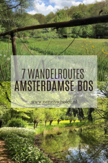wandelroutes Amsterdamse bos