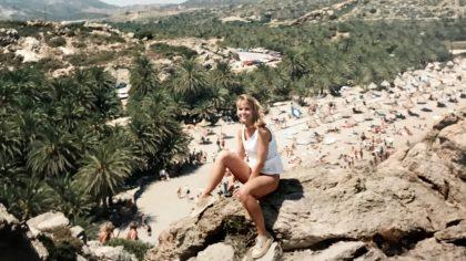 Het bountystrand van Vai, Kreta
