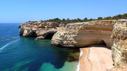 De 10 mooiste stranden van de Algarve, Portugal