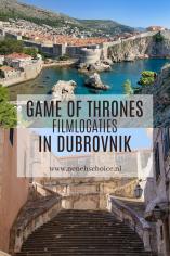 Game of Thrones filmlocaties in Dubrovnik Kroatie