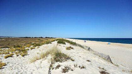 De mooiste stranden van de Algarve, Ilha de Tavira, Algarve, Portugal