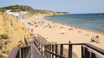 Praia de Salema, Algarve, Portugal