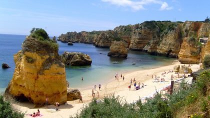 Praia Dona Ana Lagos, Algarve, Portugal