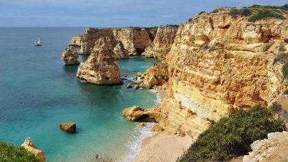 De mooiste stranden van de Algarve: Praia da Marinha, Algarve, Portugal