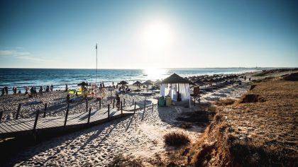 Praia da Galé, Algarve, Portugal
