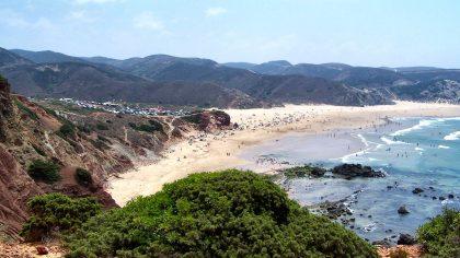 Praia do Amado, Aljezur, Algarve, Portugal