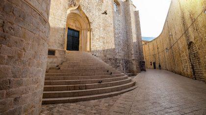 St. Dominic Street Dubrovnik