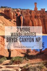 3 mooie wandelingen in Bryce Canyon NP, Amerika