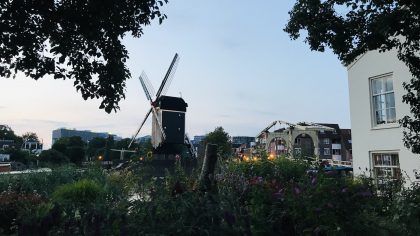 Leiden, molen de Put, Nederland