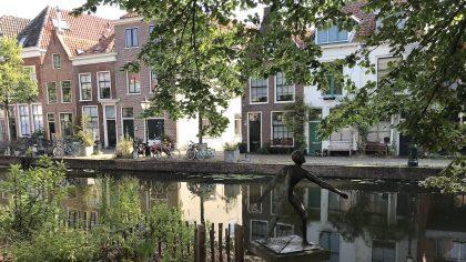 Wandelroute Singelpark, Leiden, Nederland