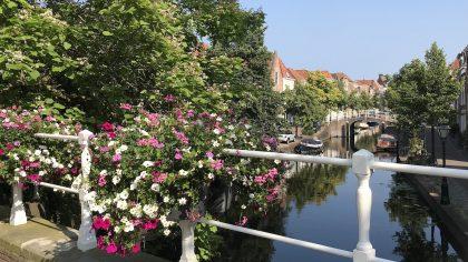 Singelpark wandelroute Leiden, Nederland